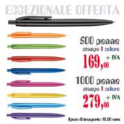 Penne in offerta con stampa vs logo ad uno colore