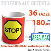 Tazze personalizzate con foto o logo